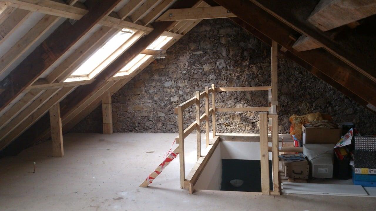 Loft conversion pembroke dock pbs construction design - Loft industriel muratore construction design ...